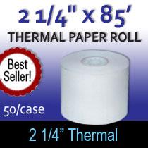 2 1/4 x85 thermal paper