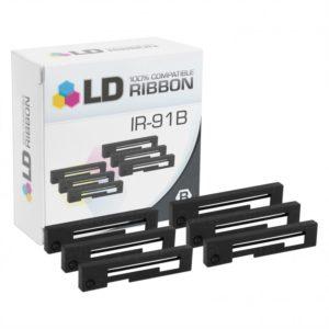 5Pk Citizen Ink Ribbon IR-91B Black - credit card thermal paper